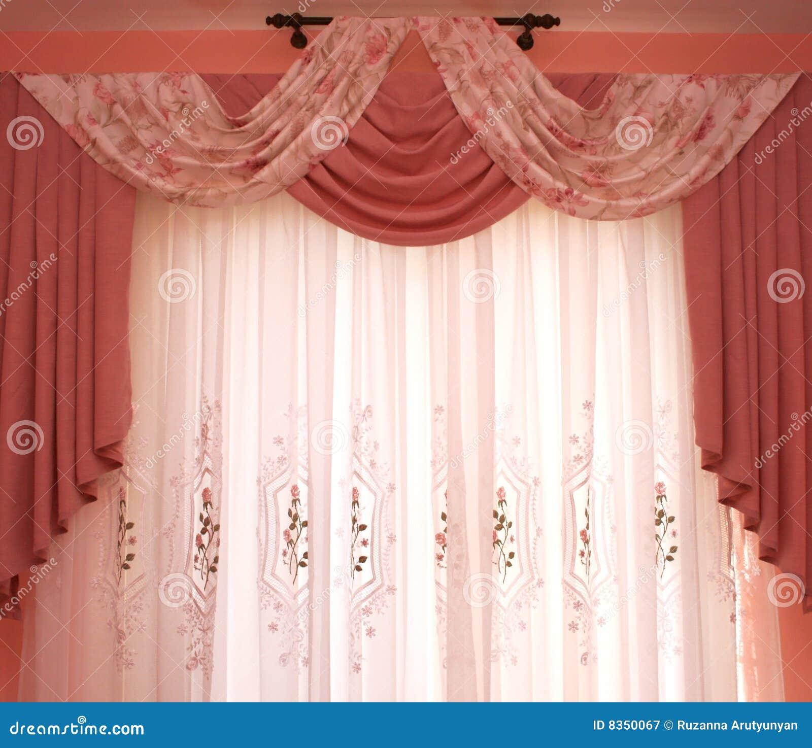 Fotos De Cortina ~ Cortinas imagen de archivo Imagen de tela, interior, cortinas 8350067