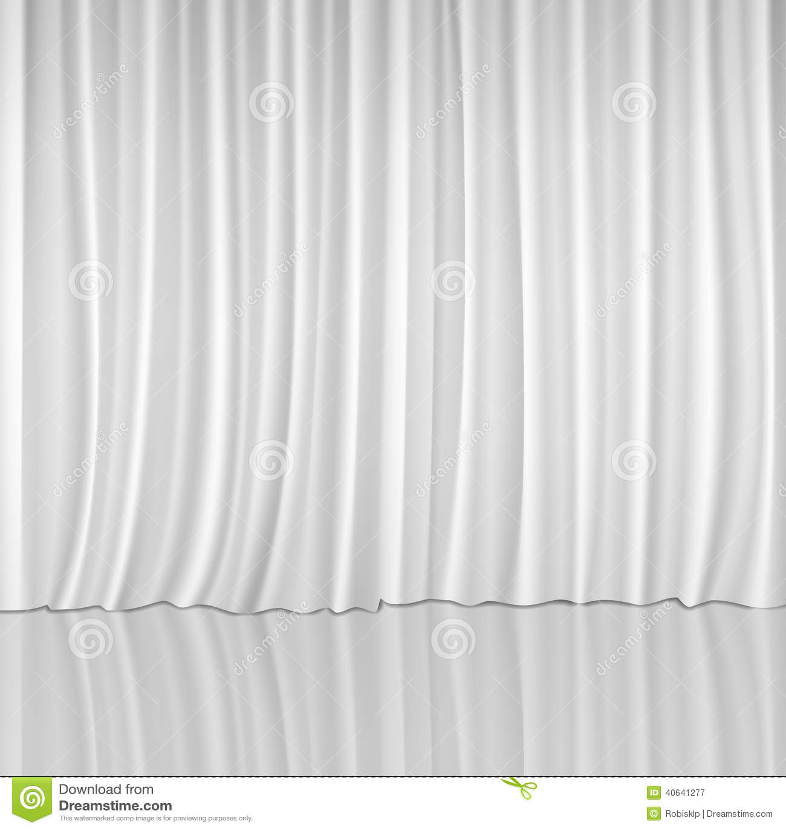 Cortinas blancas stock de ilustraci n imagen 40641277 for Cortinas grises y blancas