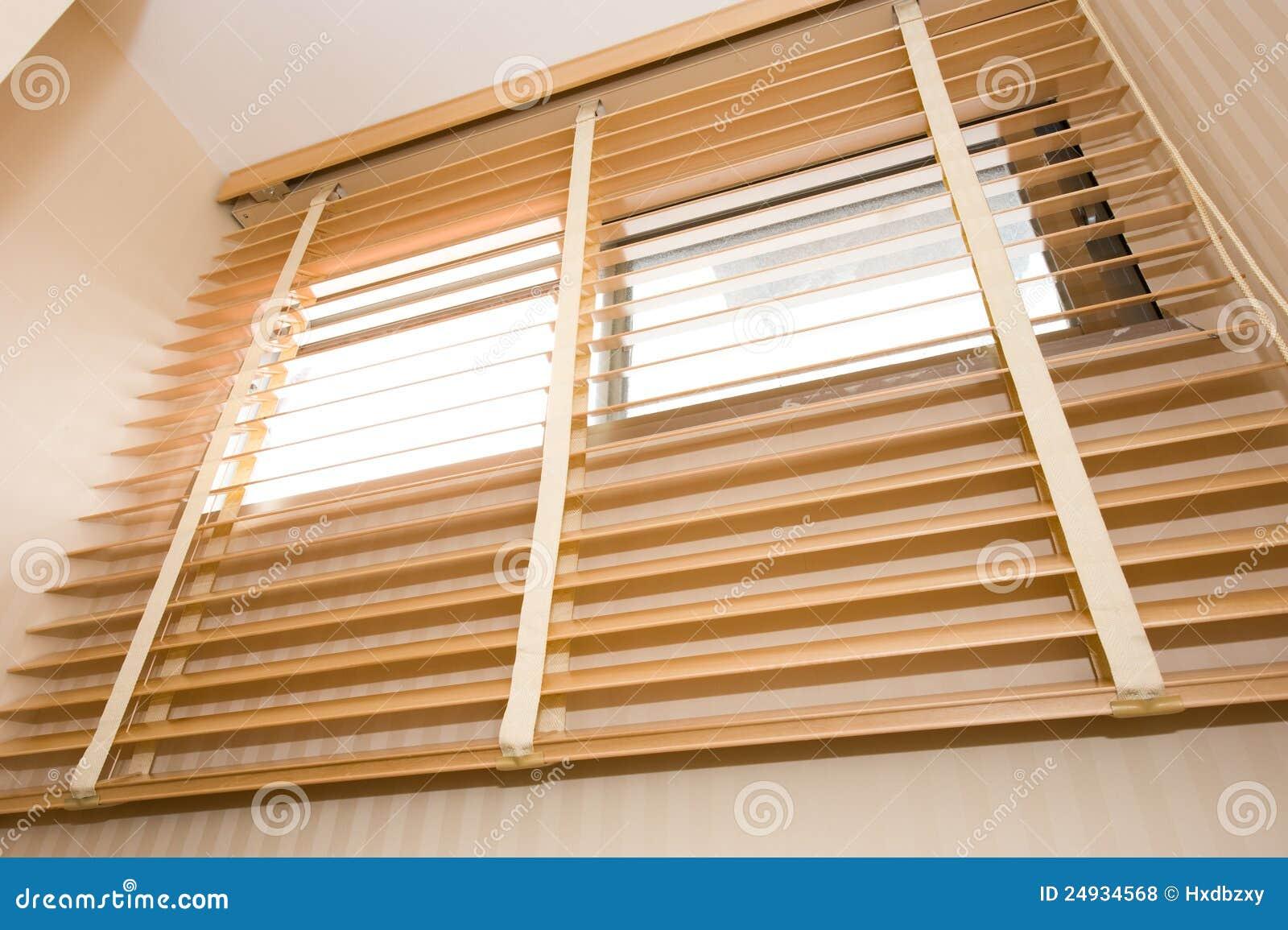 Cortinas da madeira
