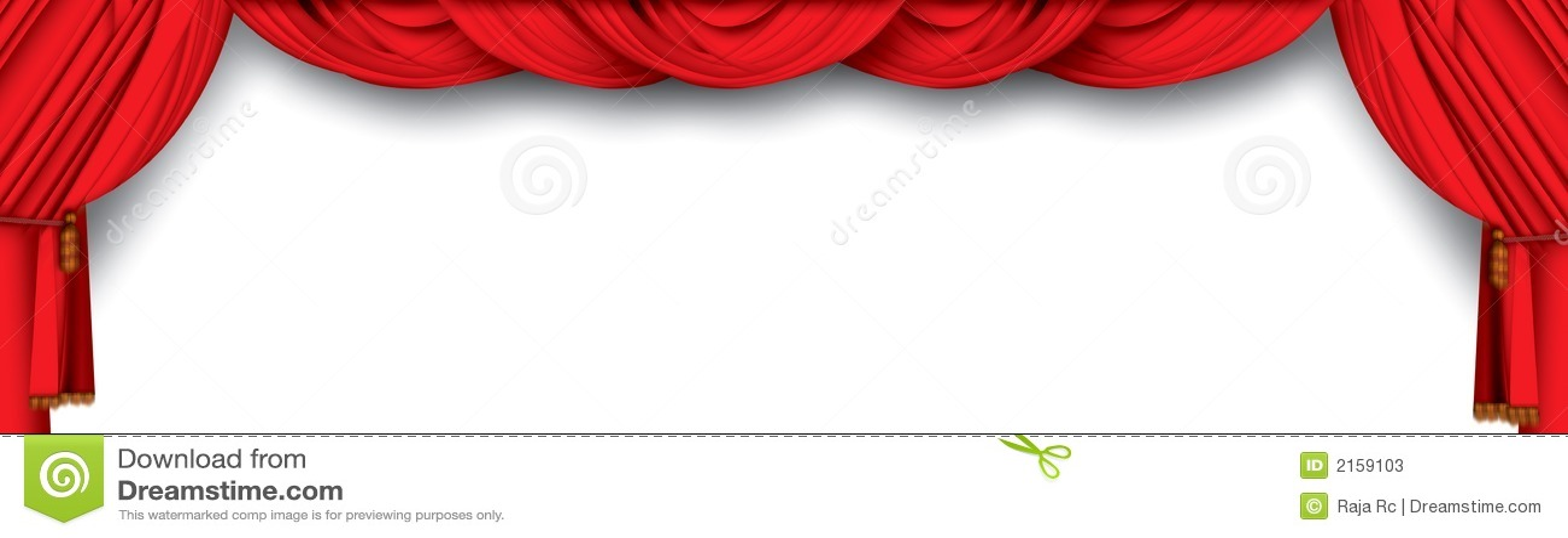 Cortinas Del Teatro Stock De Ilustración. Ilustración De