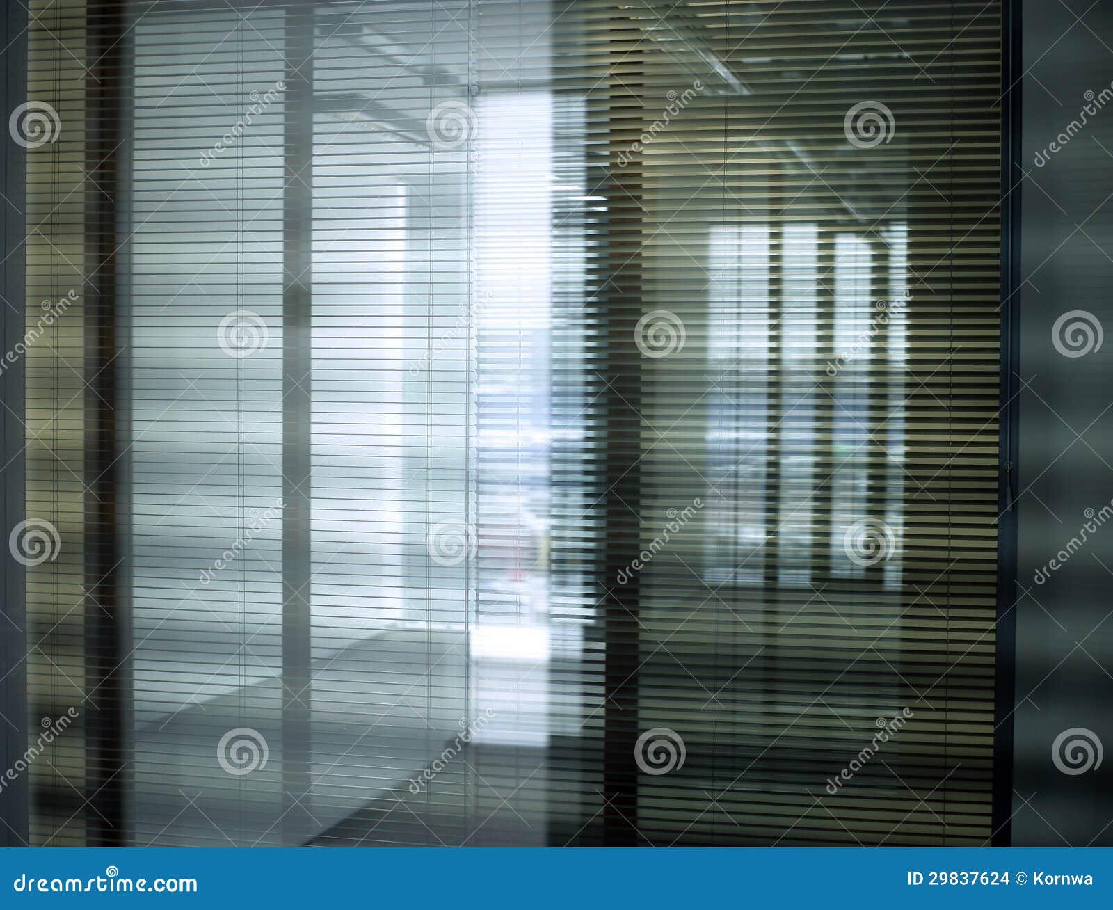 Cortinas do escritório