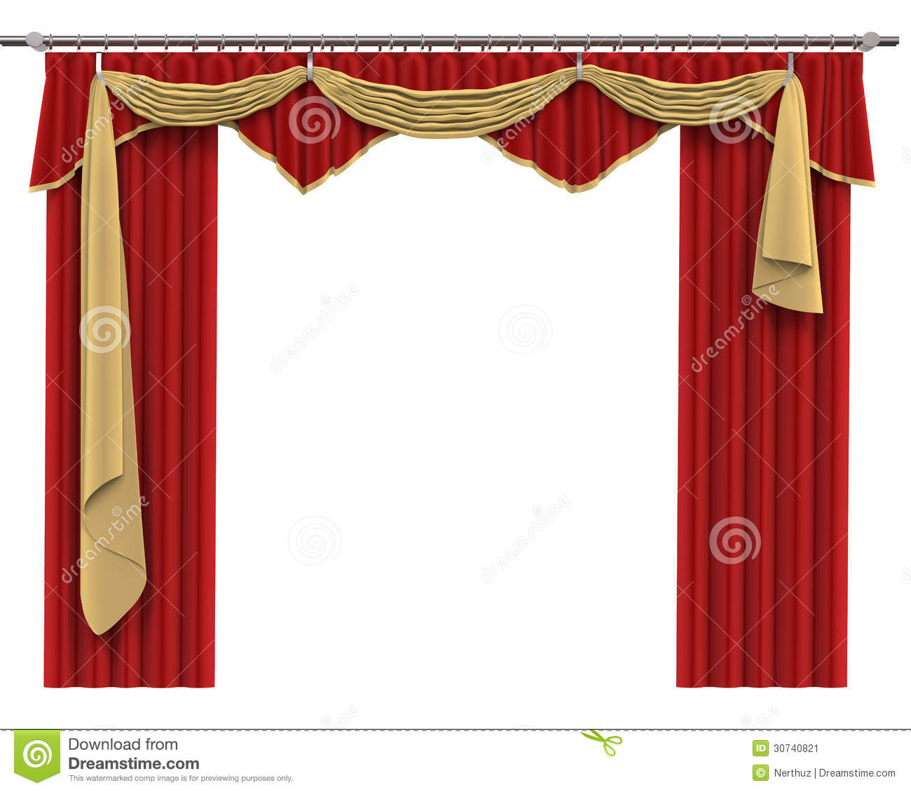 Cortinas De Baño Rojas:White and Red Curtains Background