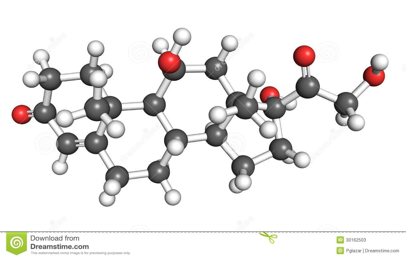 testosterone structural formula