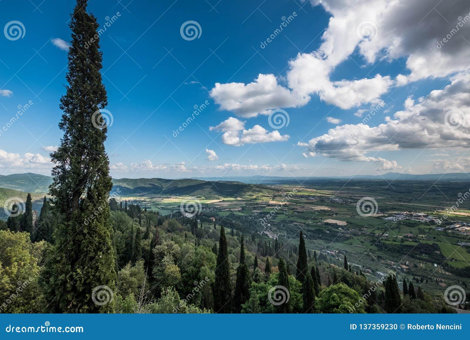 Cortona Arezzo, Tuscany - Italien