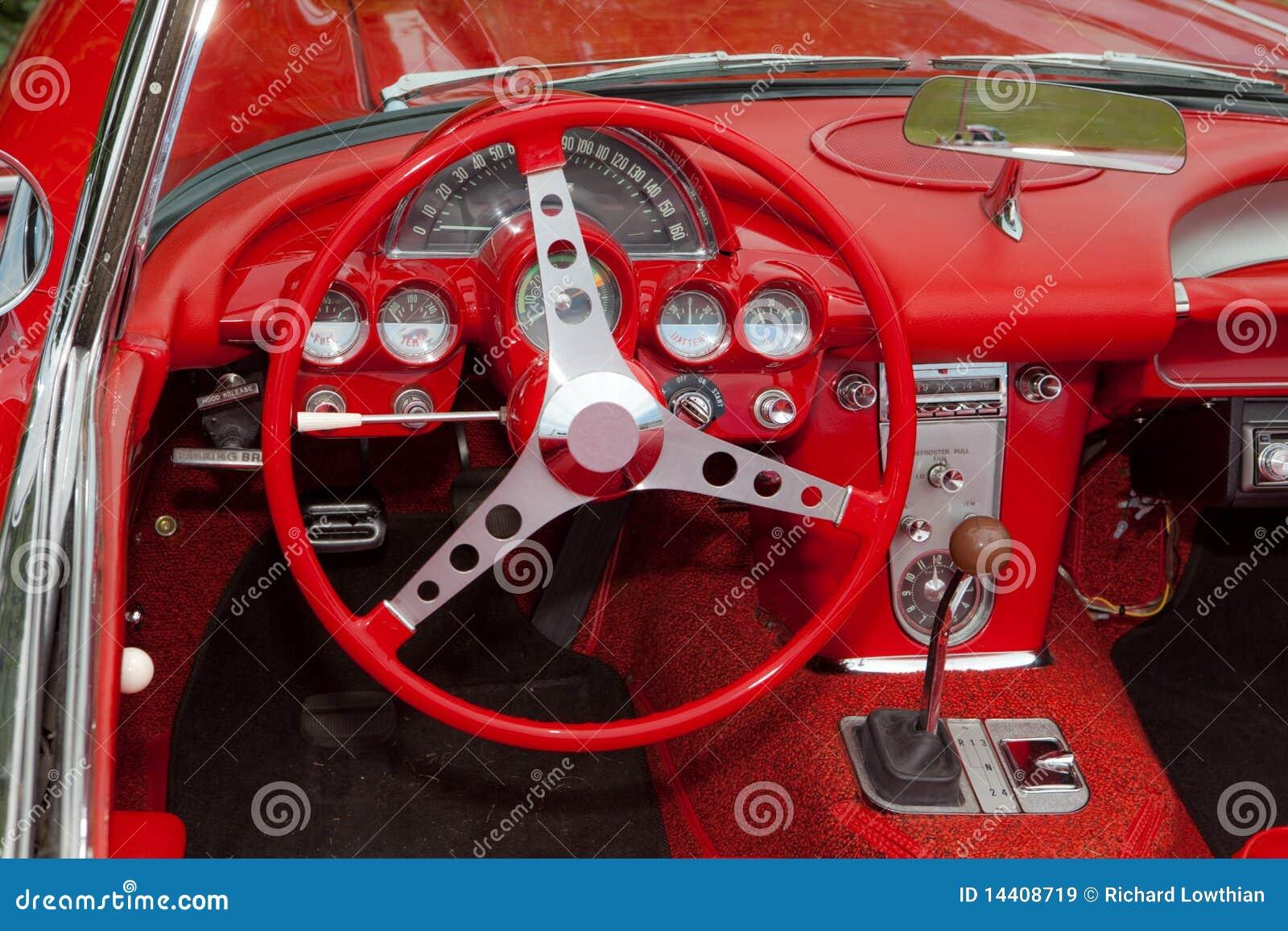 Corvette Dashboard Stock Image Image Of Dash 1962