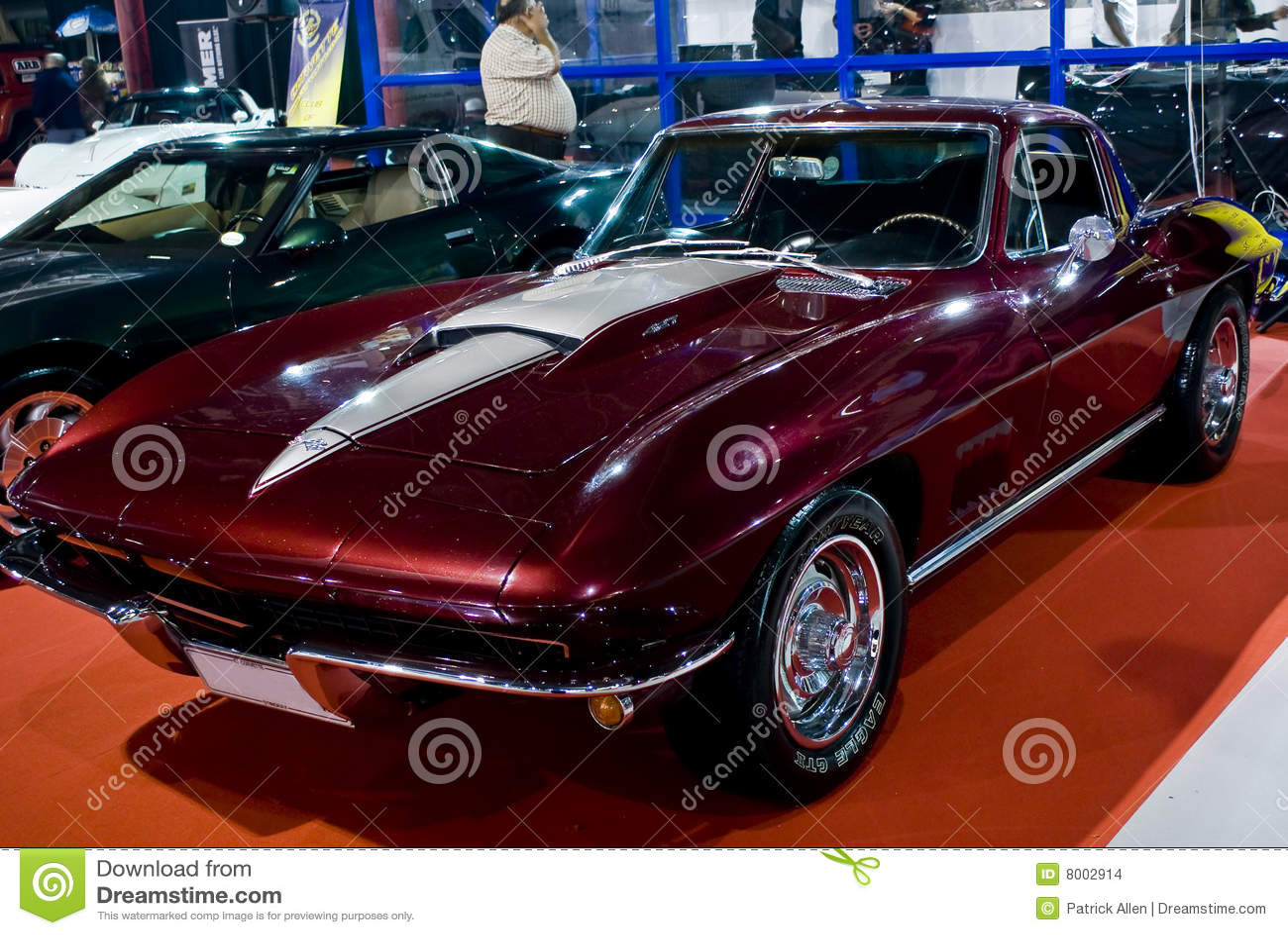 corvette stingray 1967 mph editorial stock image image 8002914. Black Bedroom Furniture Sets. Home Design Ideas