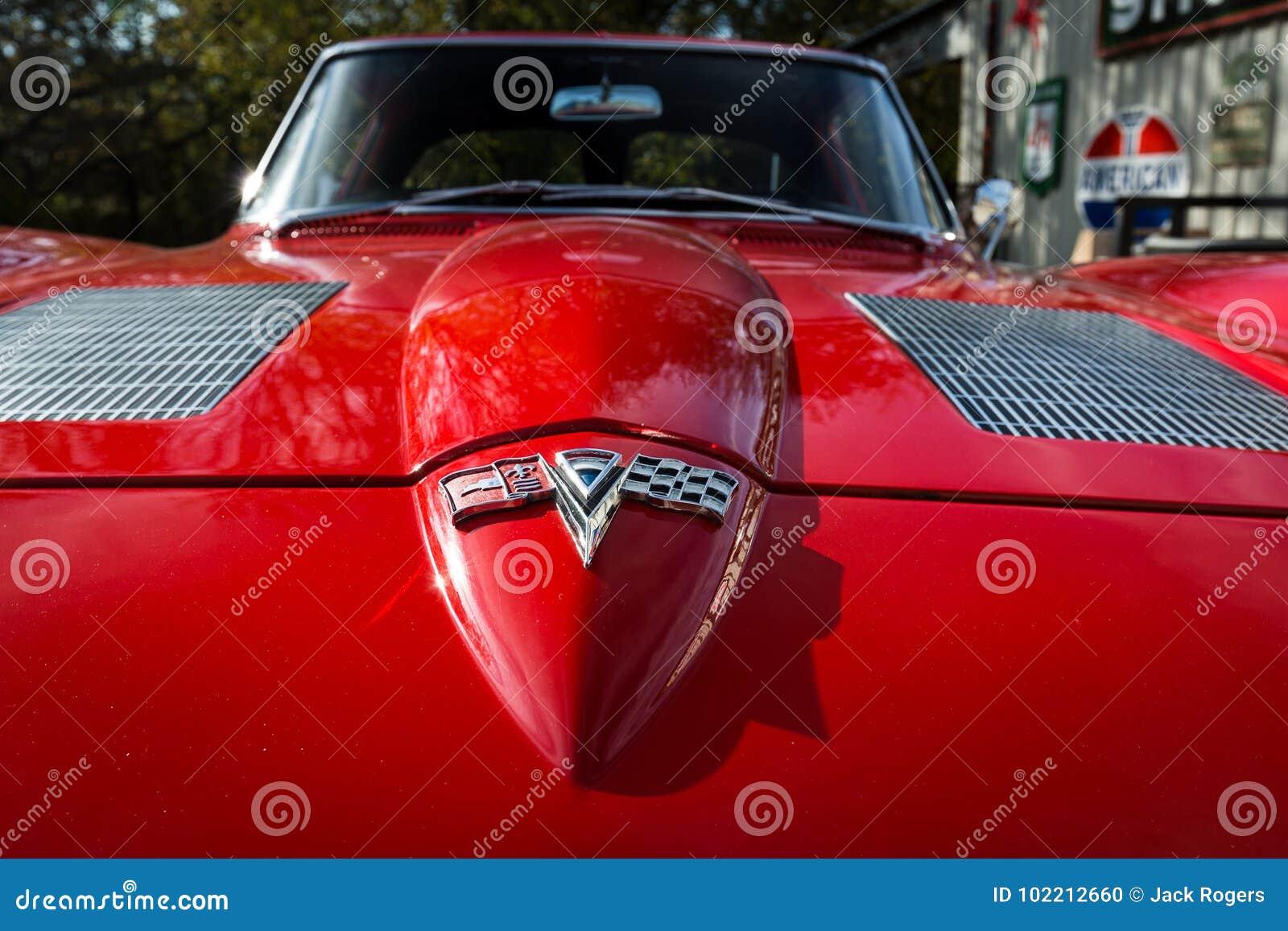 1963 Corvette Stingray editorial image  Image of race