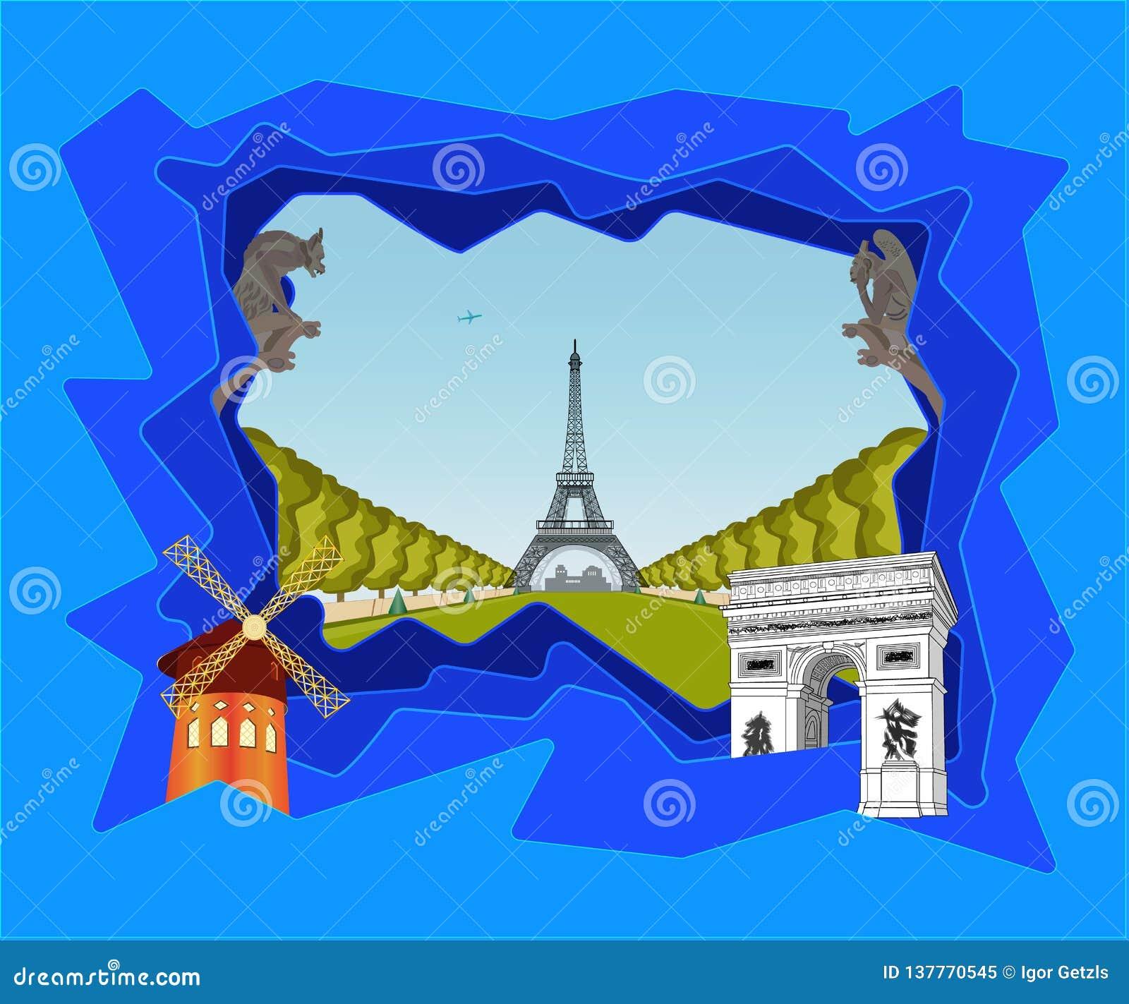 Così Parigi differente