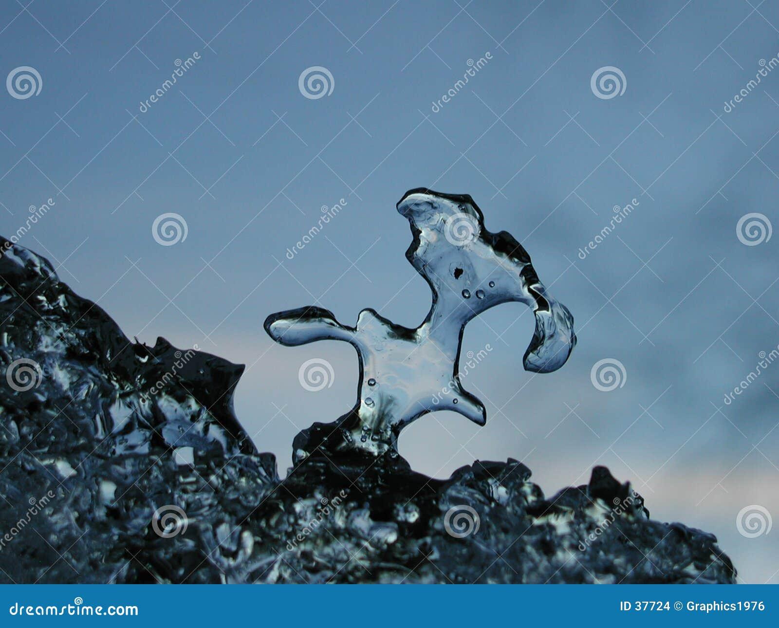 Download Cosa del hielo foto de archivo. Imagen de transparente, finlandia - 37724