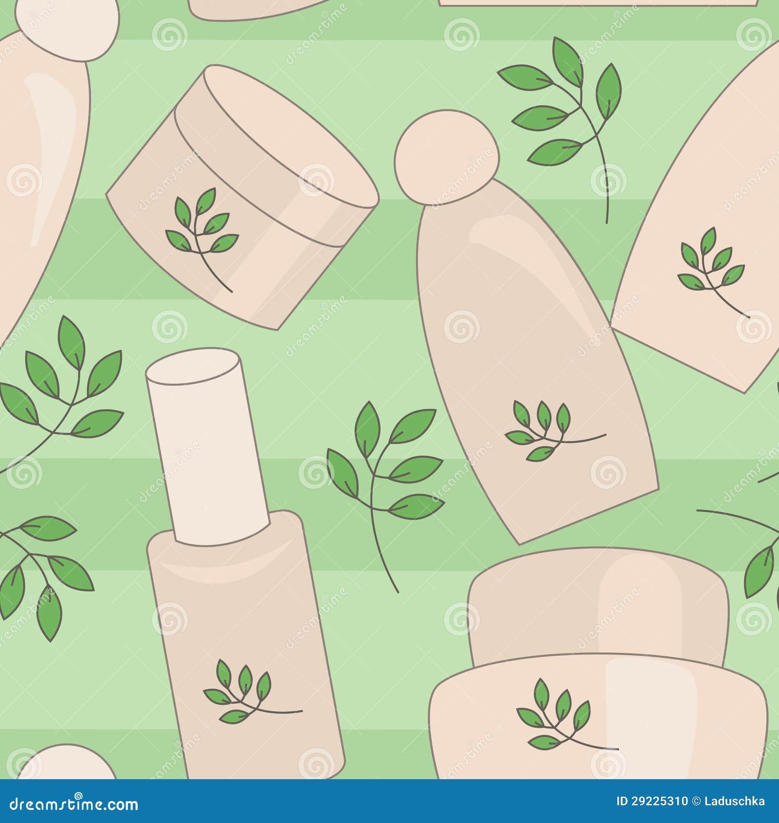 Download Cosméticos naturais ilustração do vetor. Ilustração de cosméticos - 29225310