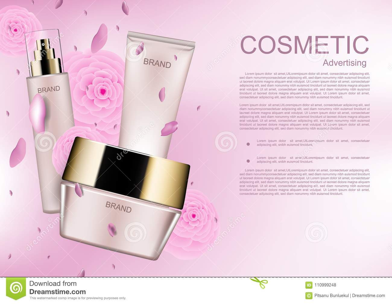 cosmetic ads