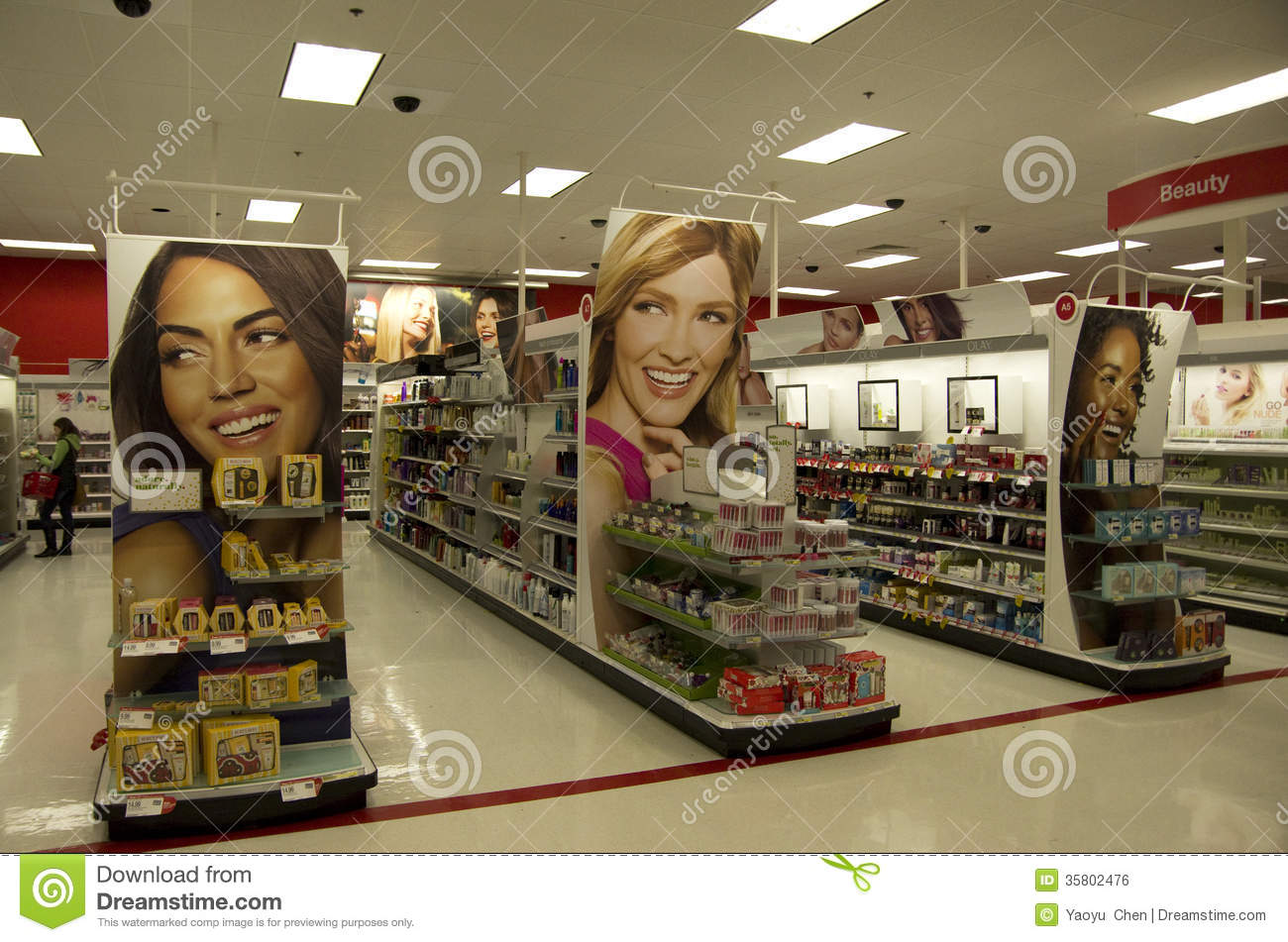 Cosmetic Beauty Store Target Editorial Photo - Image: 35802476