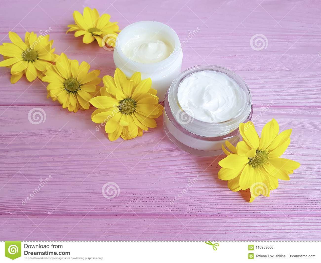 Cosmetic Facial Cream Skin Care Protection Treatment Container