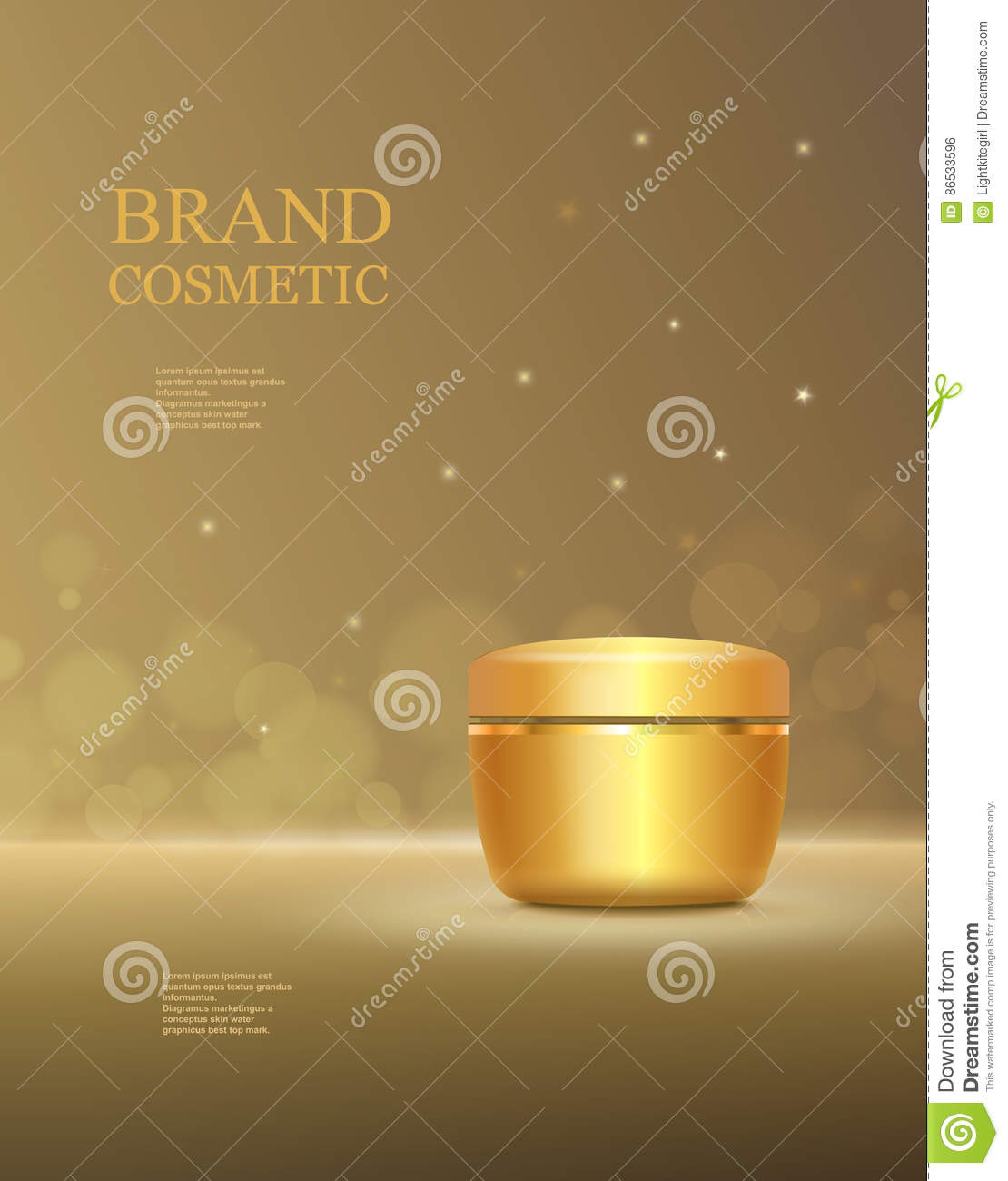 liquid template filters - skin moisturizer cosmetic design template cartoon vector