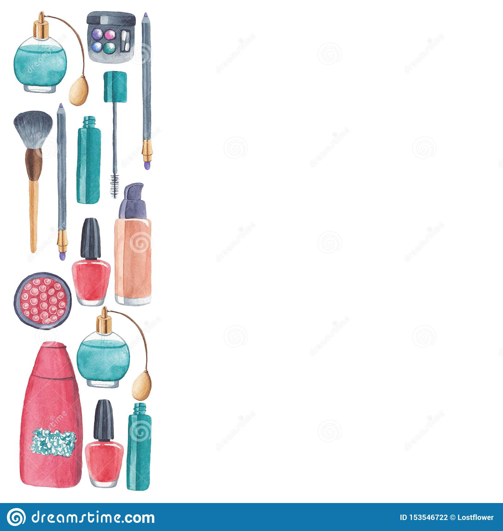 Product commercial cosmetic products
