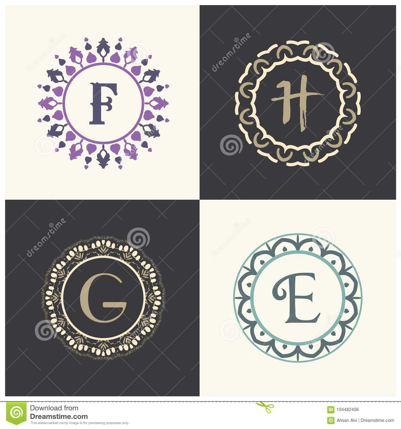 Beautiful Alphabet Letter Designs F