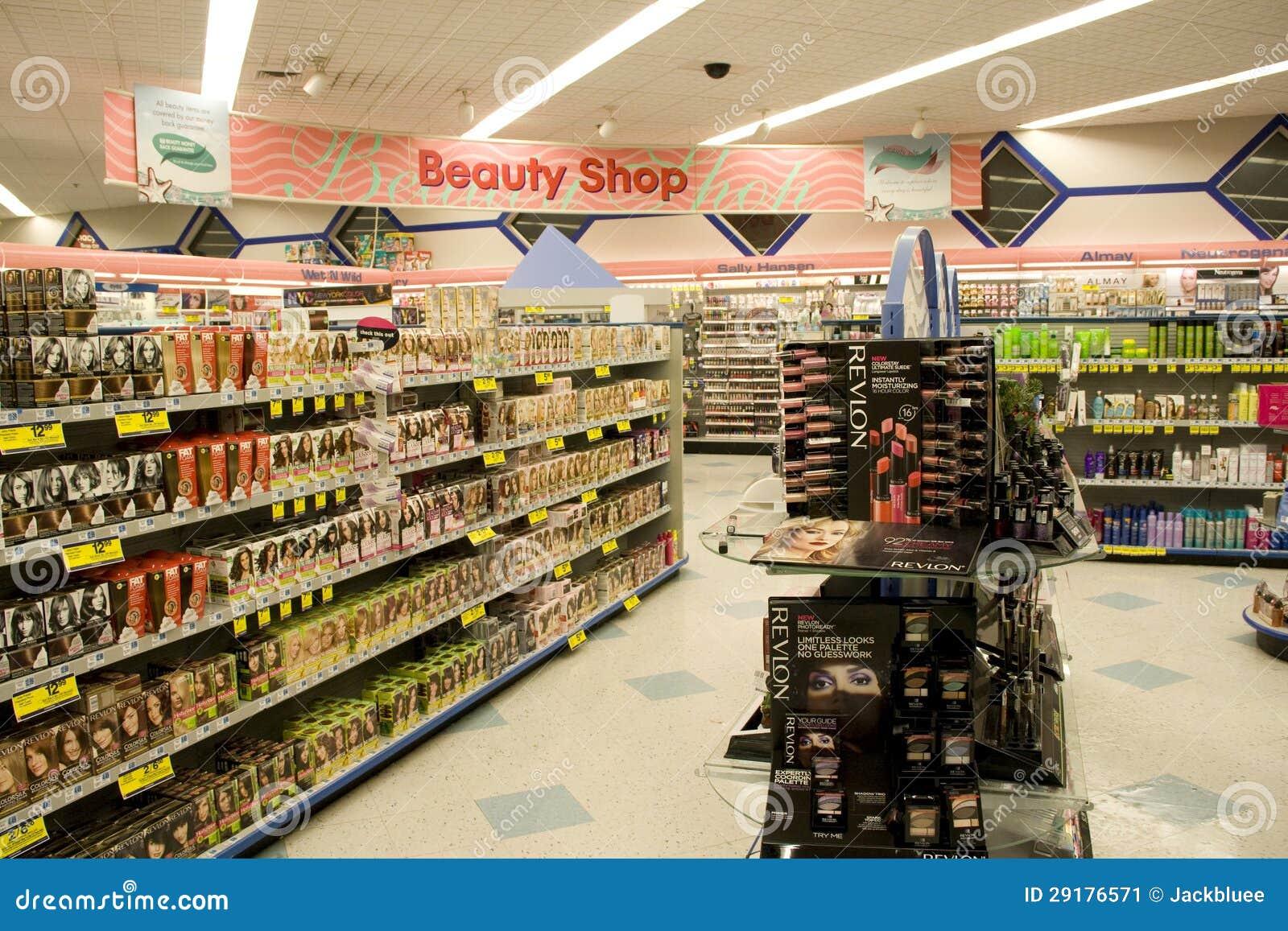 beauty cosmetics shop