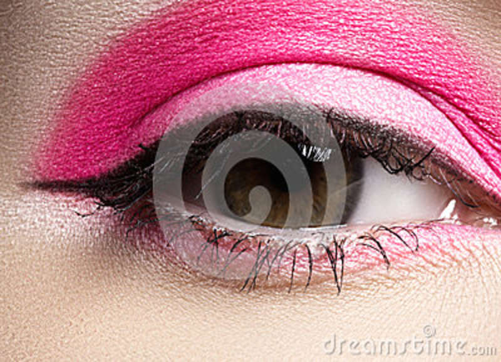 High fashion eye