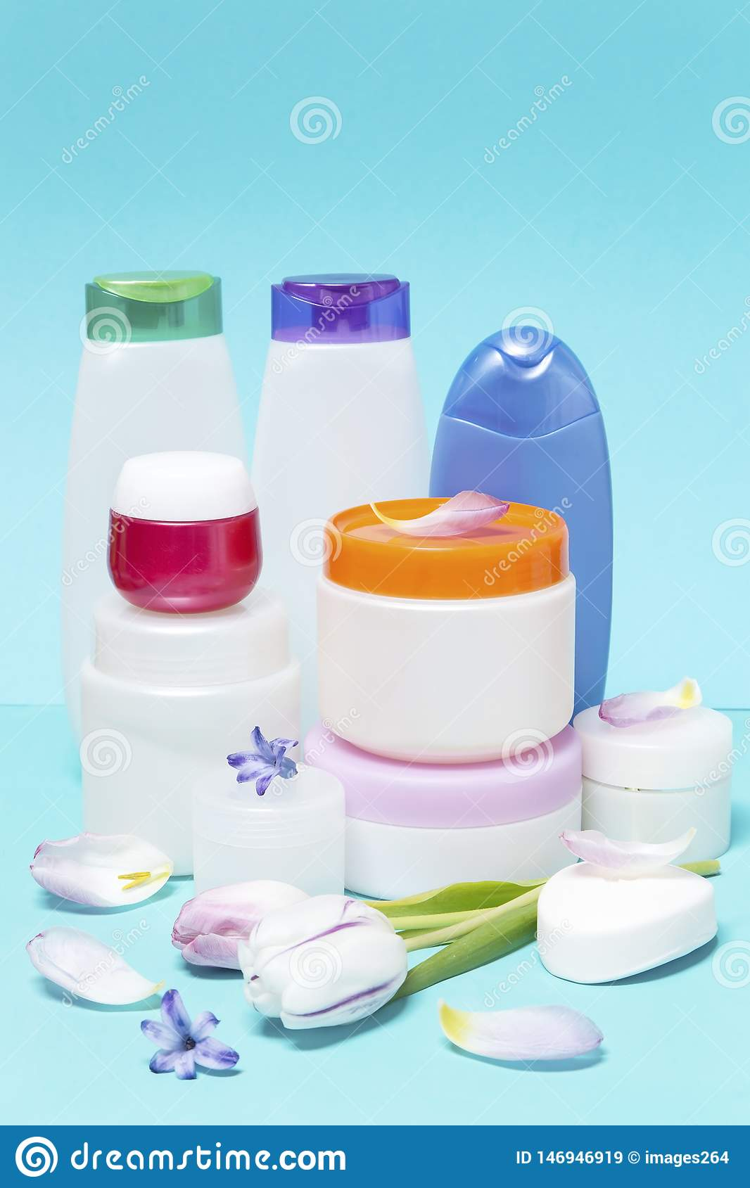 Cosmetics and hygiene products