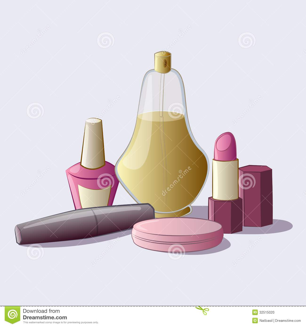 Cosmetics set stock photo image 32515020 for How to renew old nail polish