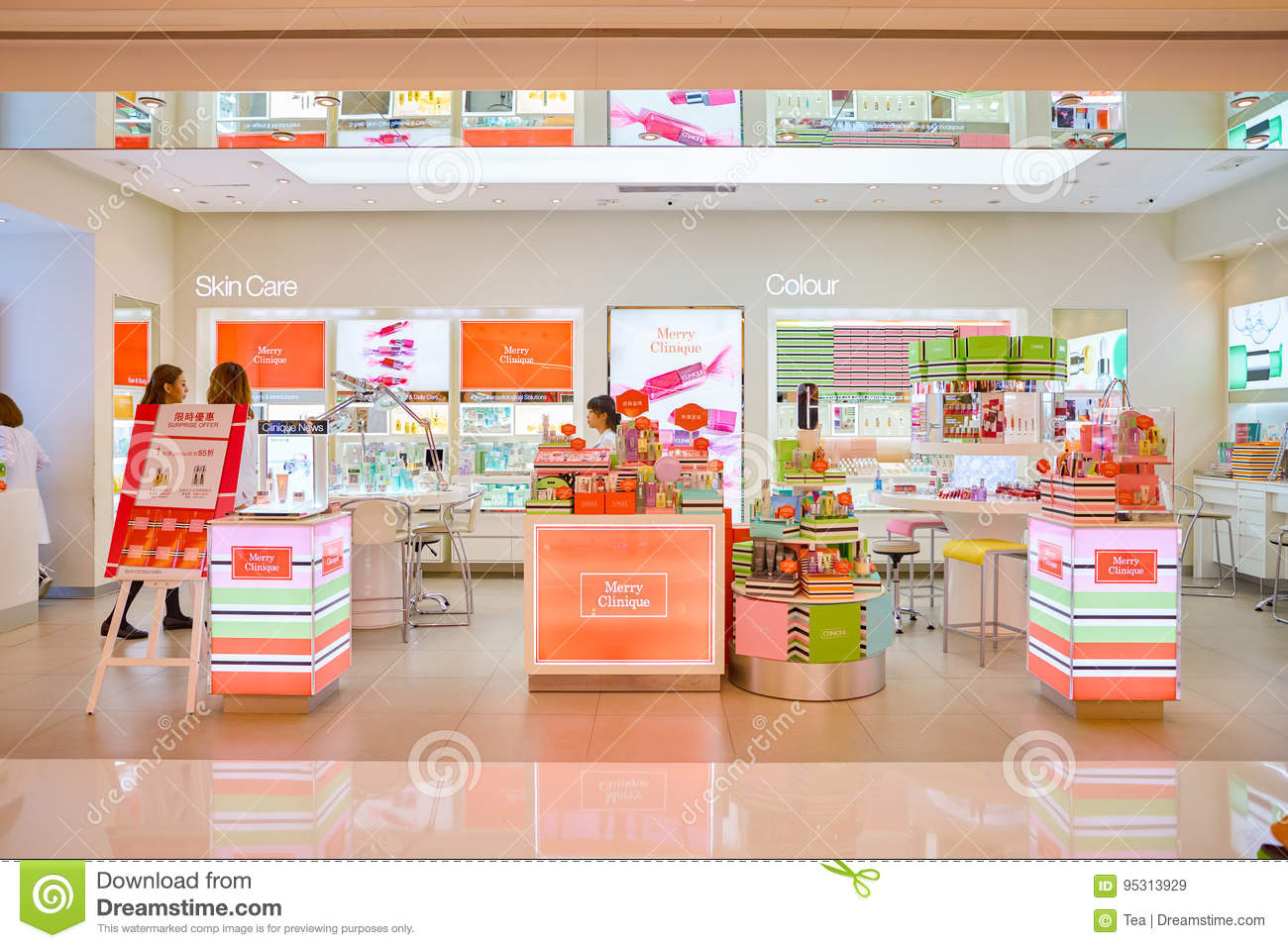 38750dfd557 Cosmetics Store In Hong Kong Editorial Stock Image - Image of beauty ...