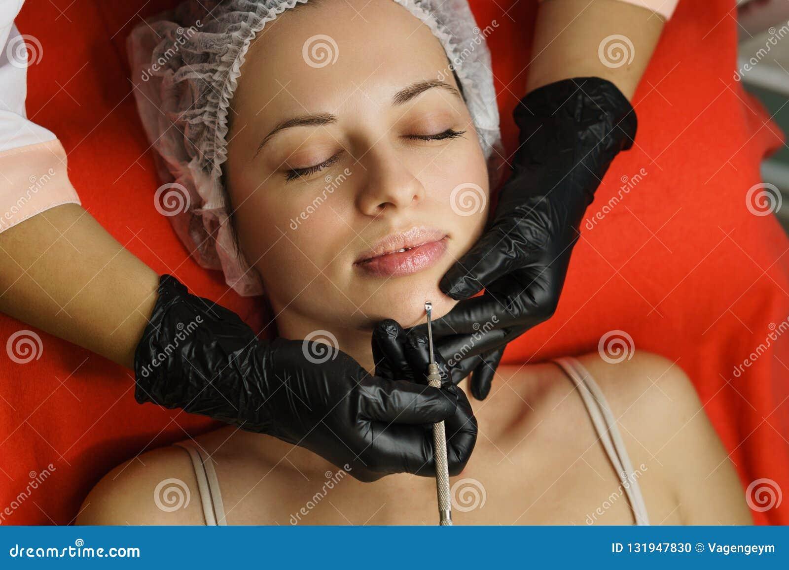 Cosmetology Gezicht het schoonmaken