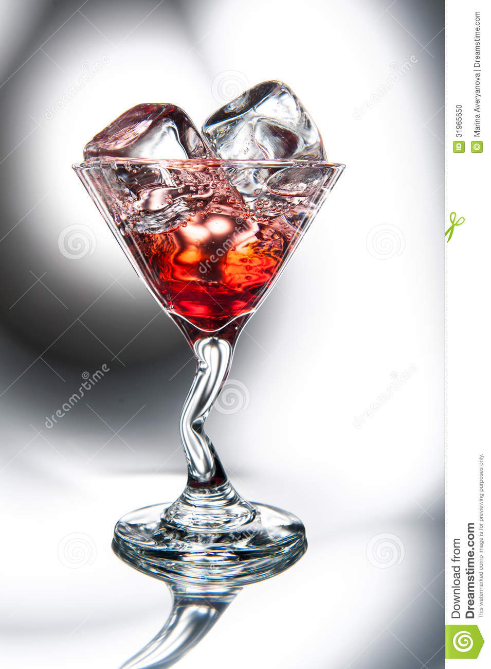 Martini Cosmopolitan Cocktail Royalty Free Stock