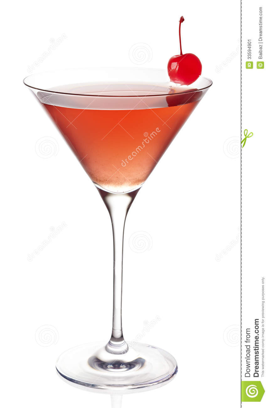 Cosmopolitan Cocktail Stock Image - Image: 33594901