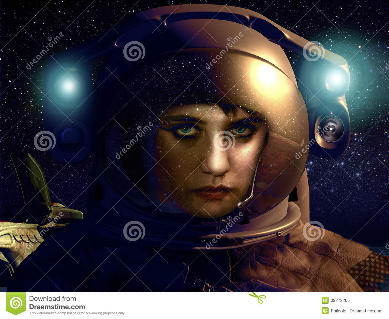 her space suit-#38