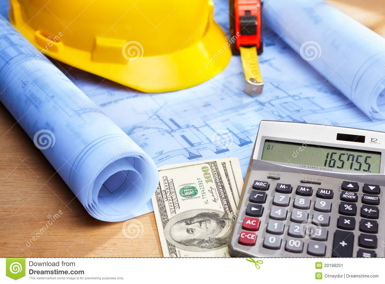 Cost calculation on house design stock image image of - How to get more money on home design ...