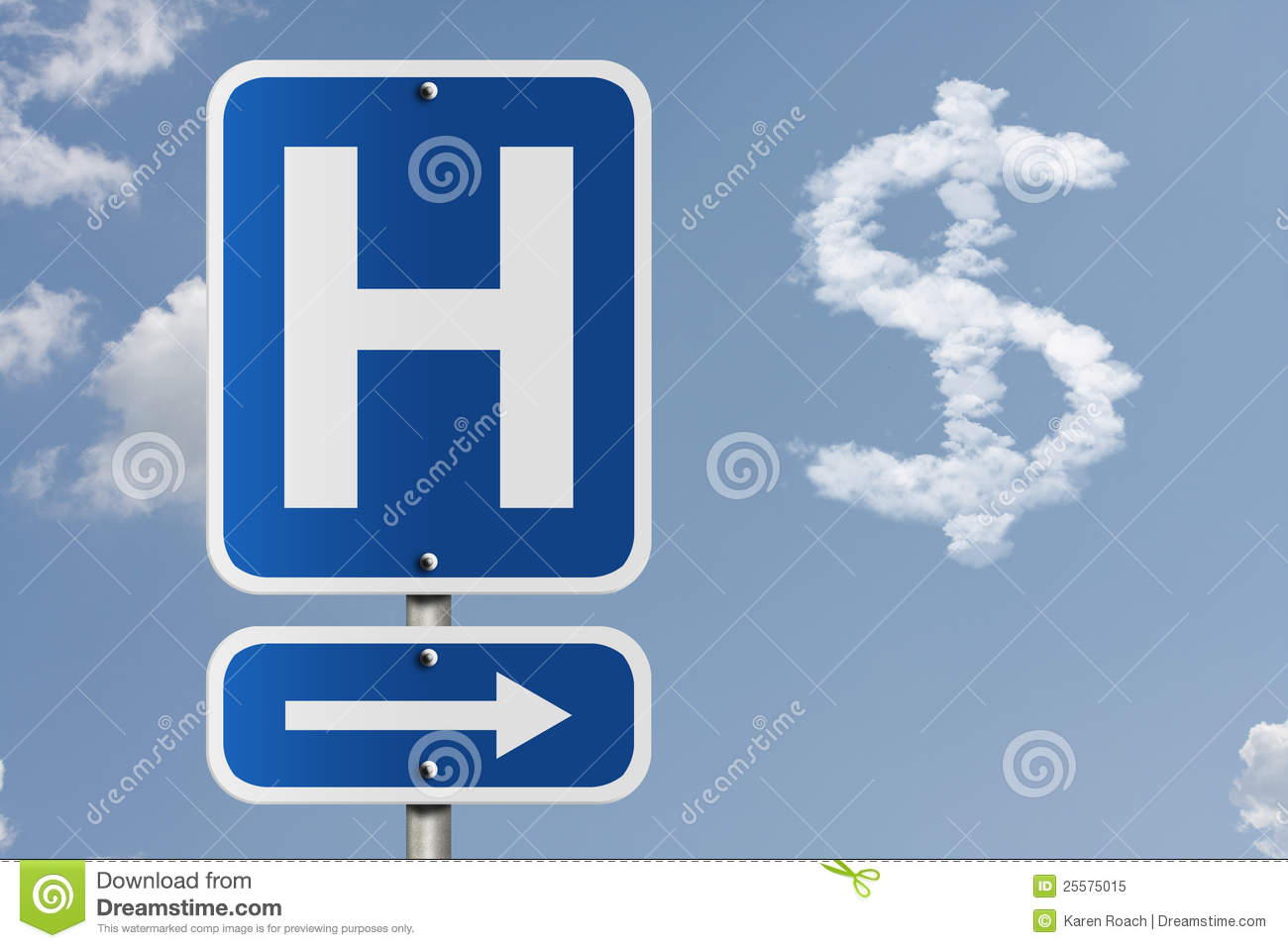 Cost of going to the hospital