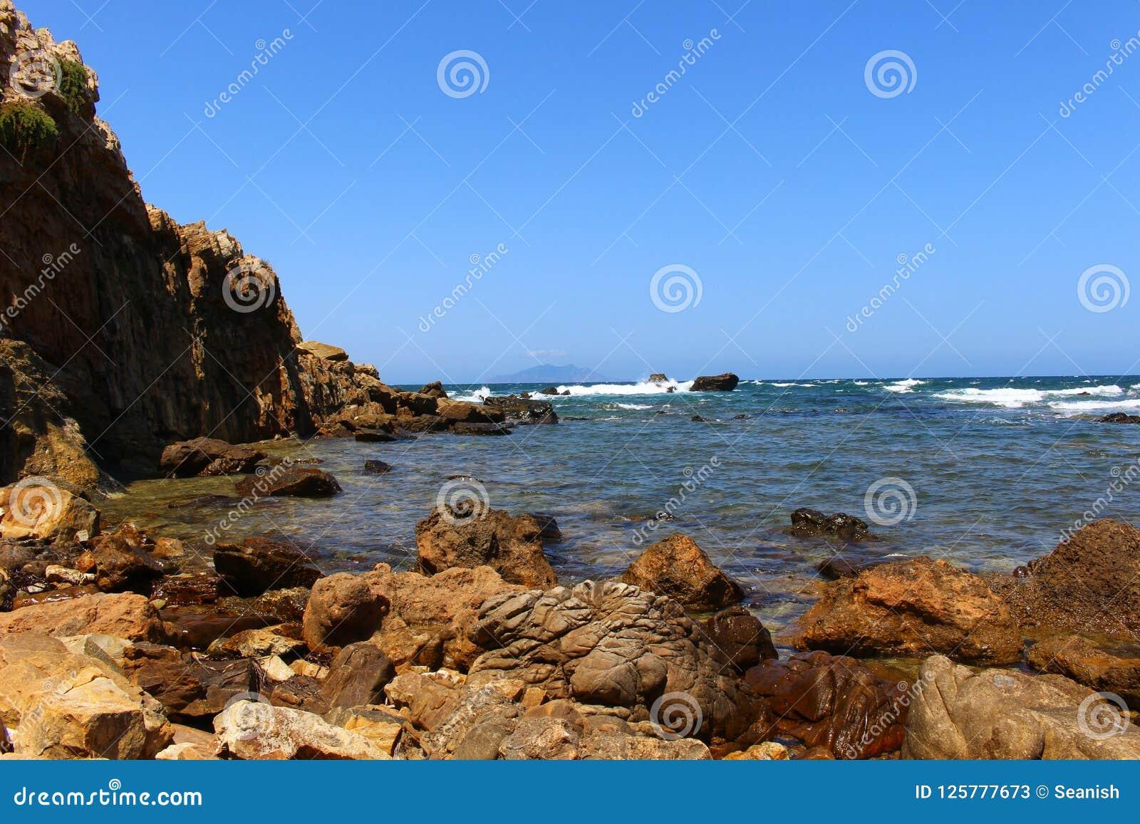 A costa áspera do Bon do tampão