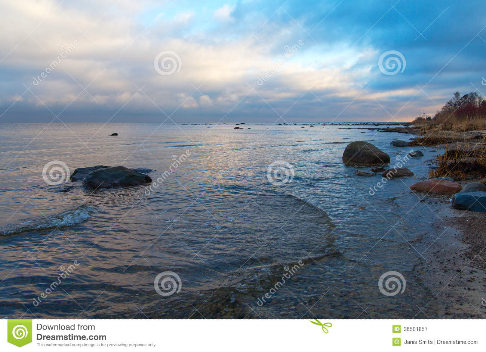 Costa Báltico.