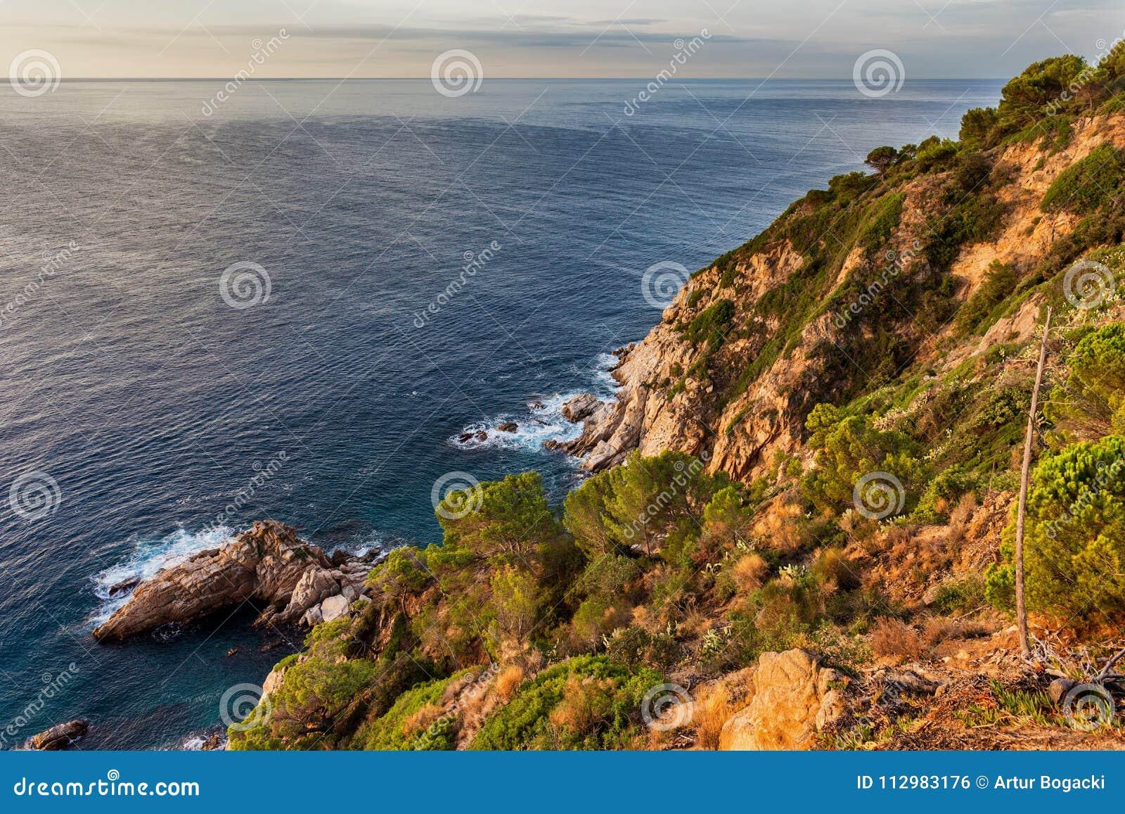 Costa Brava Sea Coast in Spain