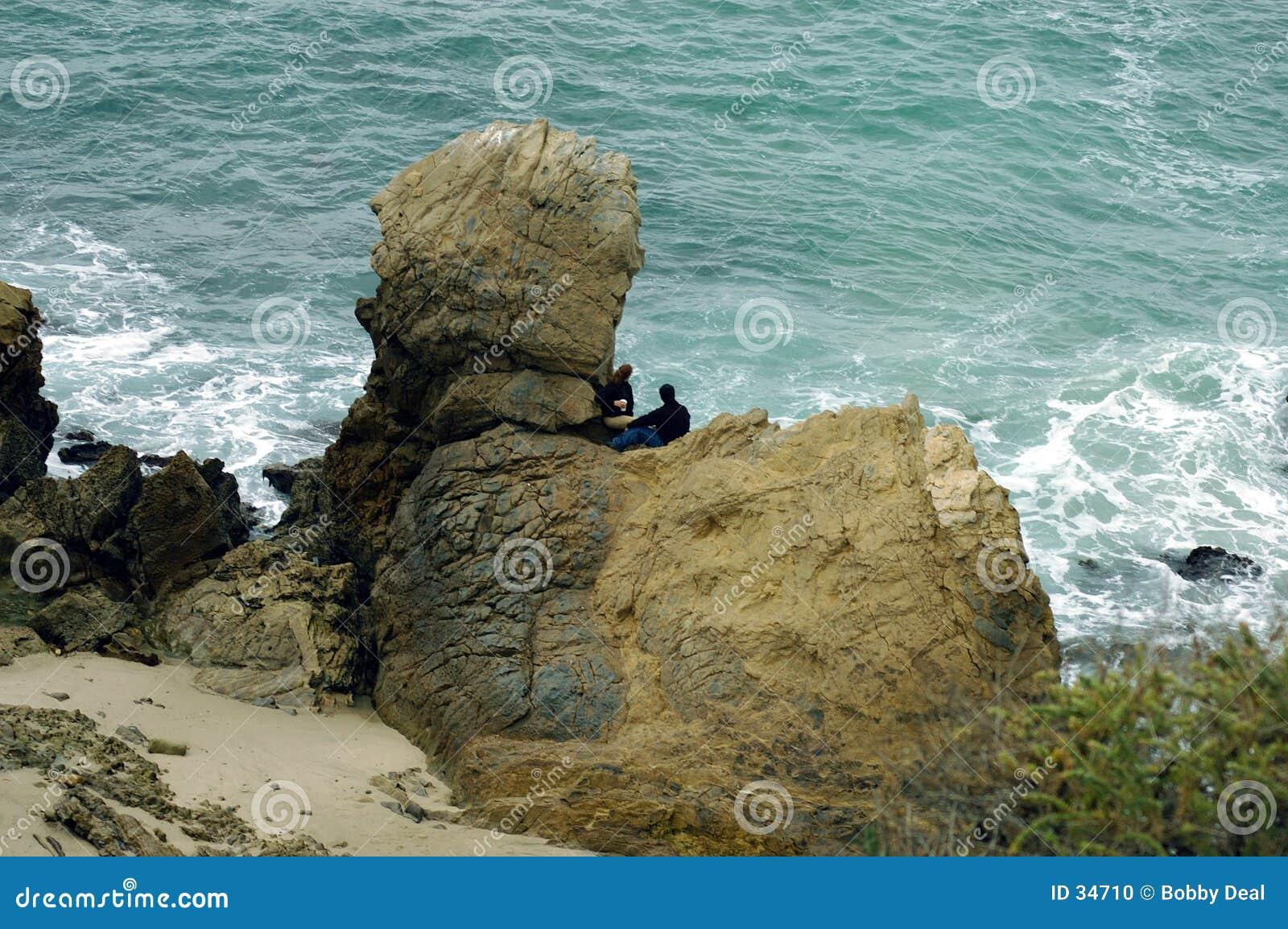 Download Costa Costa 2 De California Foto de archivo - Imagen de roca, cielo: 34710