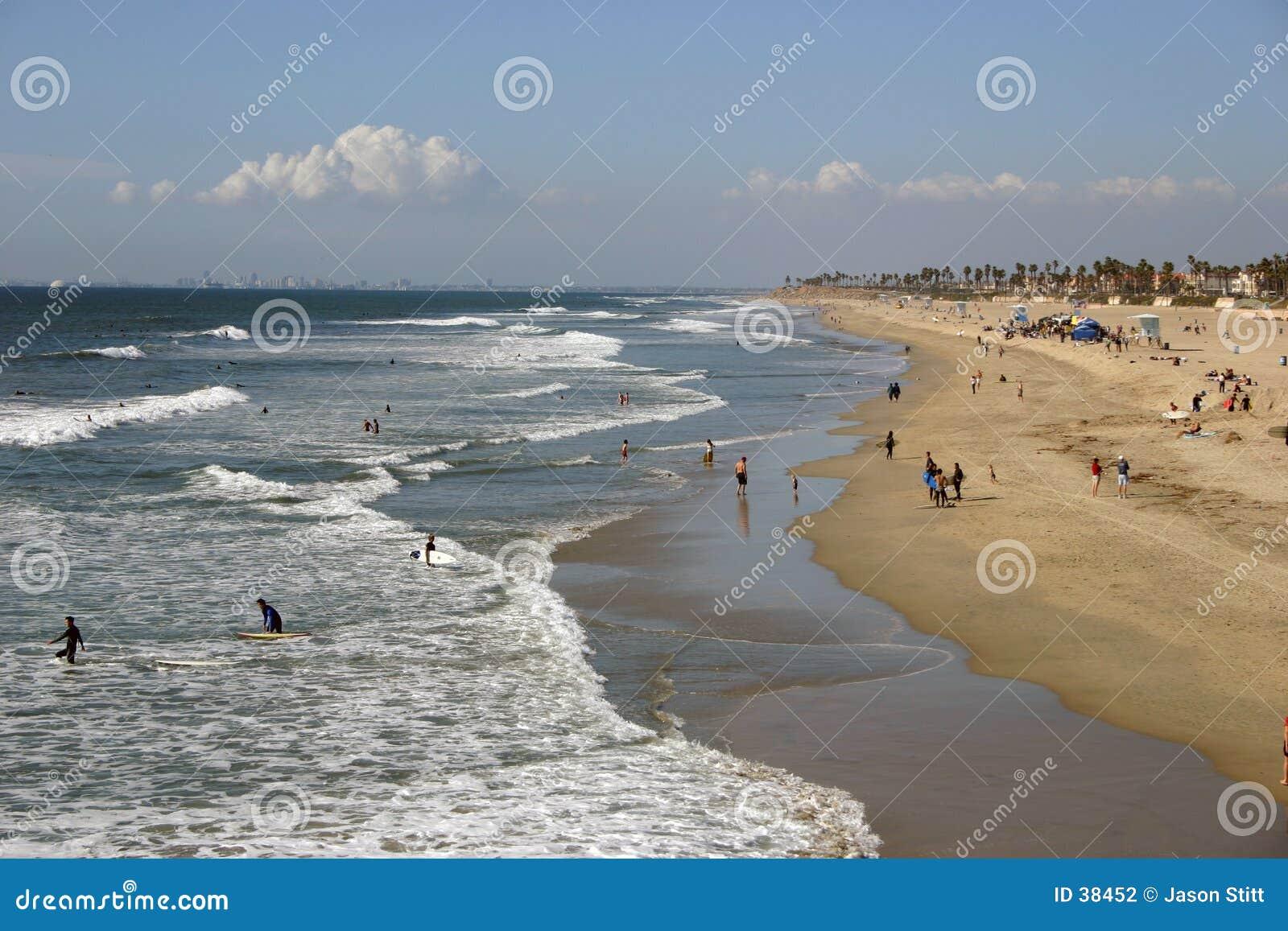 Download Costa costa foto de archivo. Imagen de cielo, ondas, litoral - 38452
