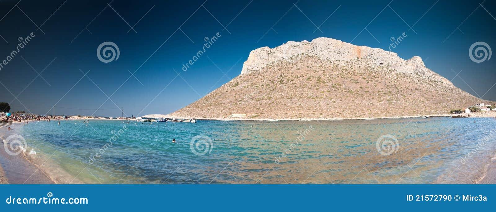 Costa costa de Crete - Stavros