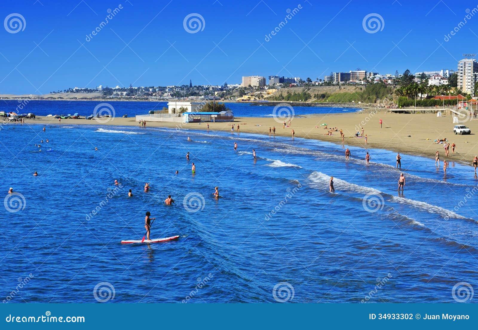 playa de maspalomas watersports