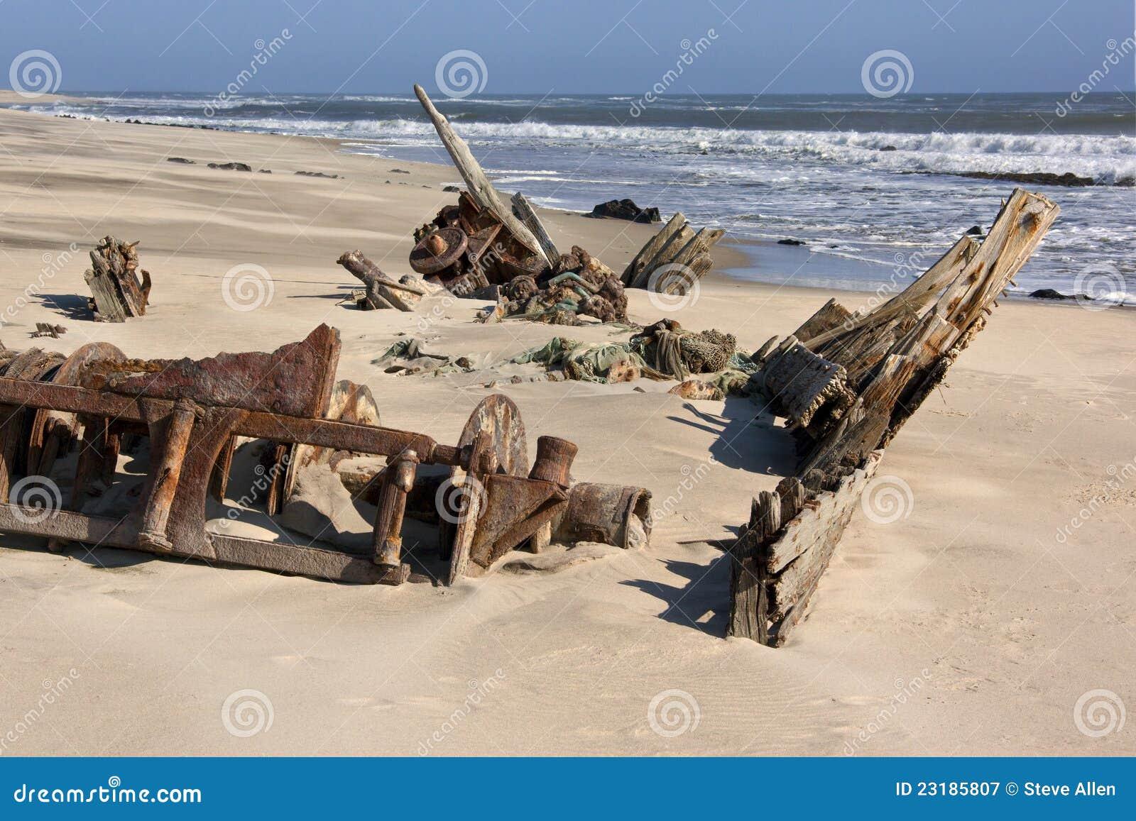 Costa de esqueleto - Namíbia
