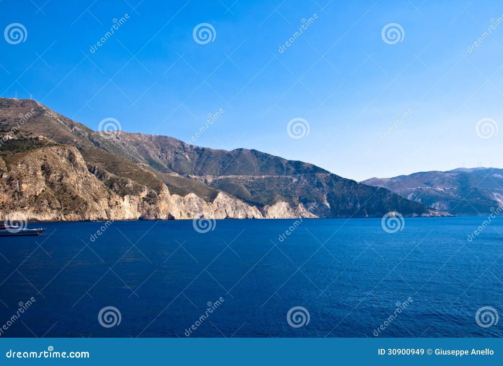 Costa de Kefalonia, Grecia