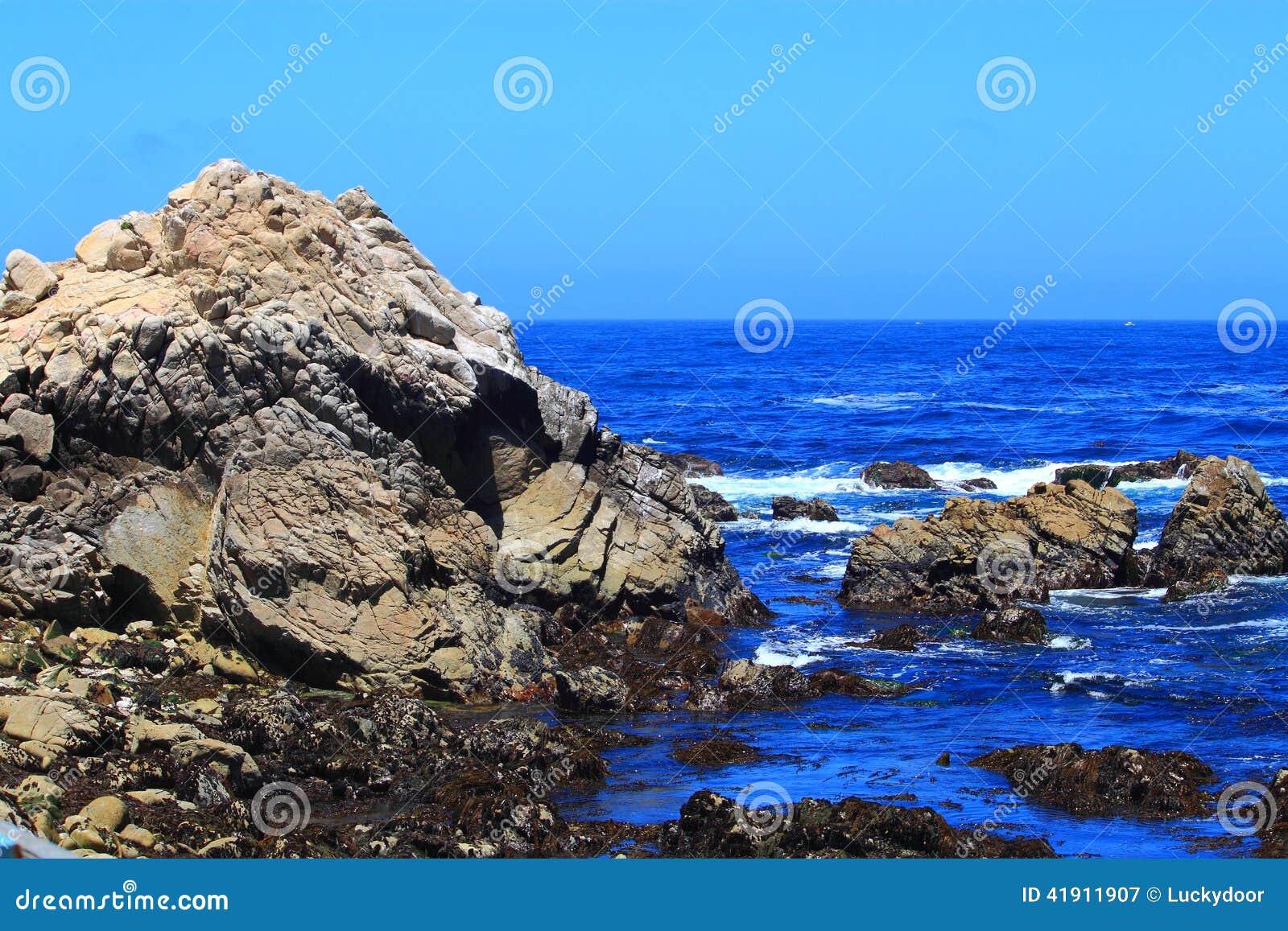 Costa de la bahía de Monterey