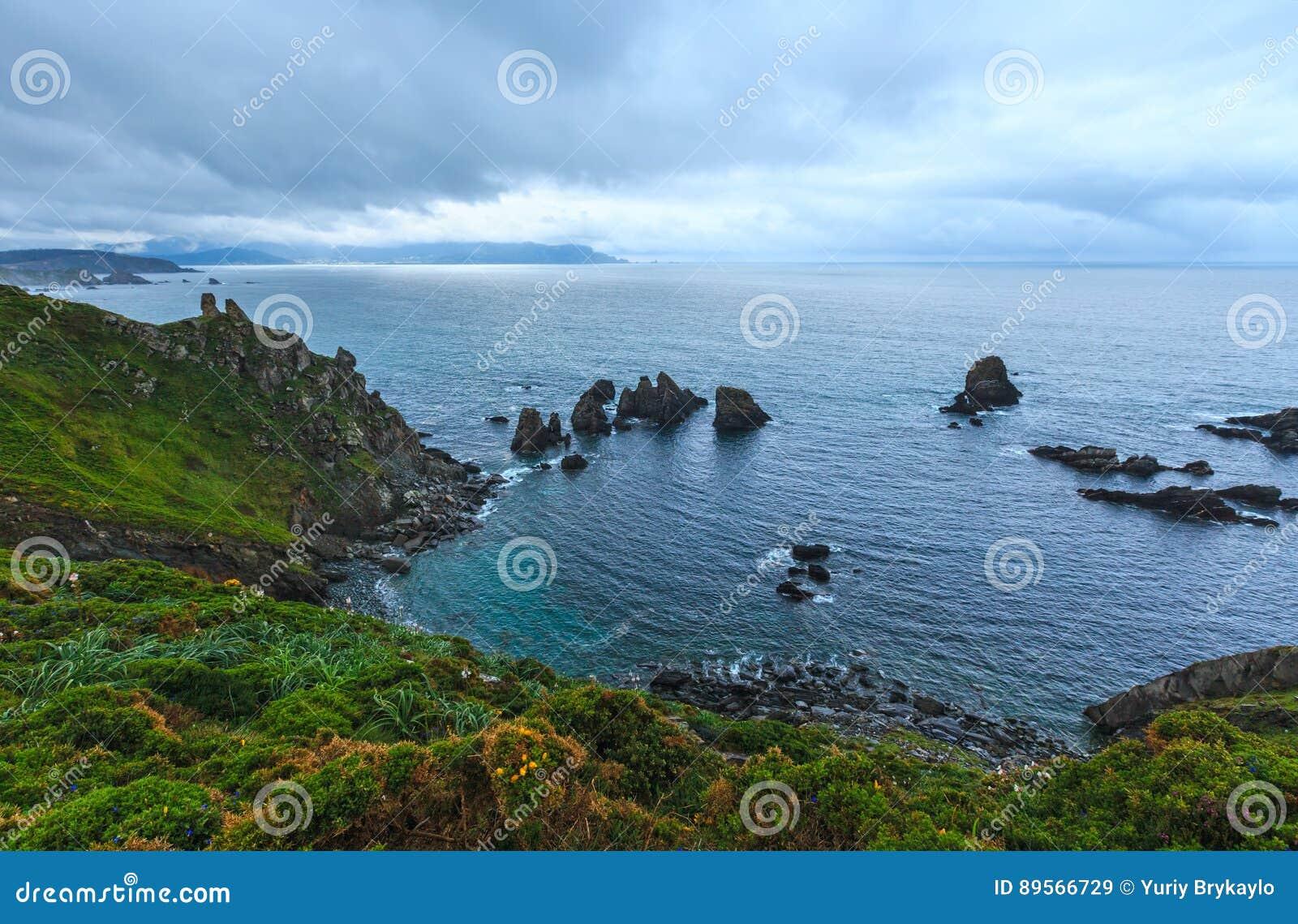 Costa de Loiba Asturias, España