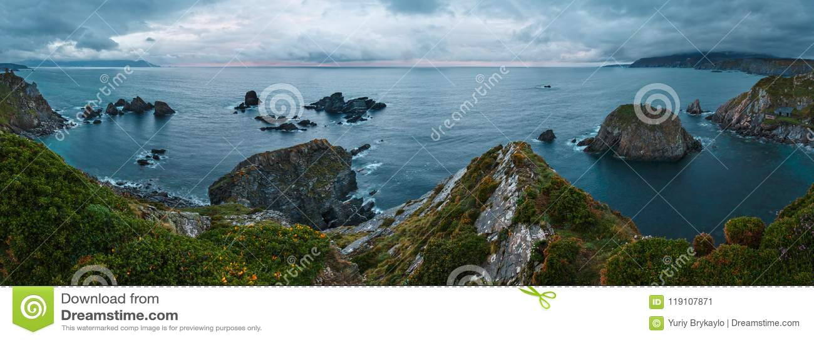 Costa de Loiba Asturias, Spanje