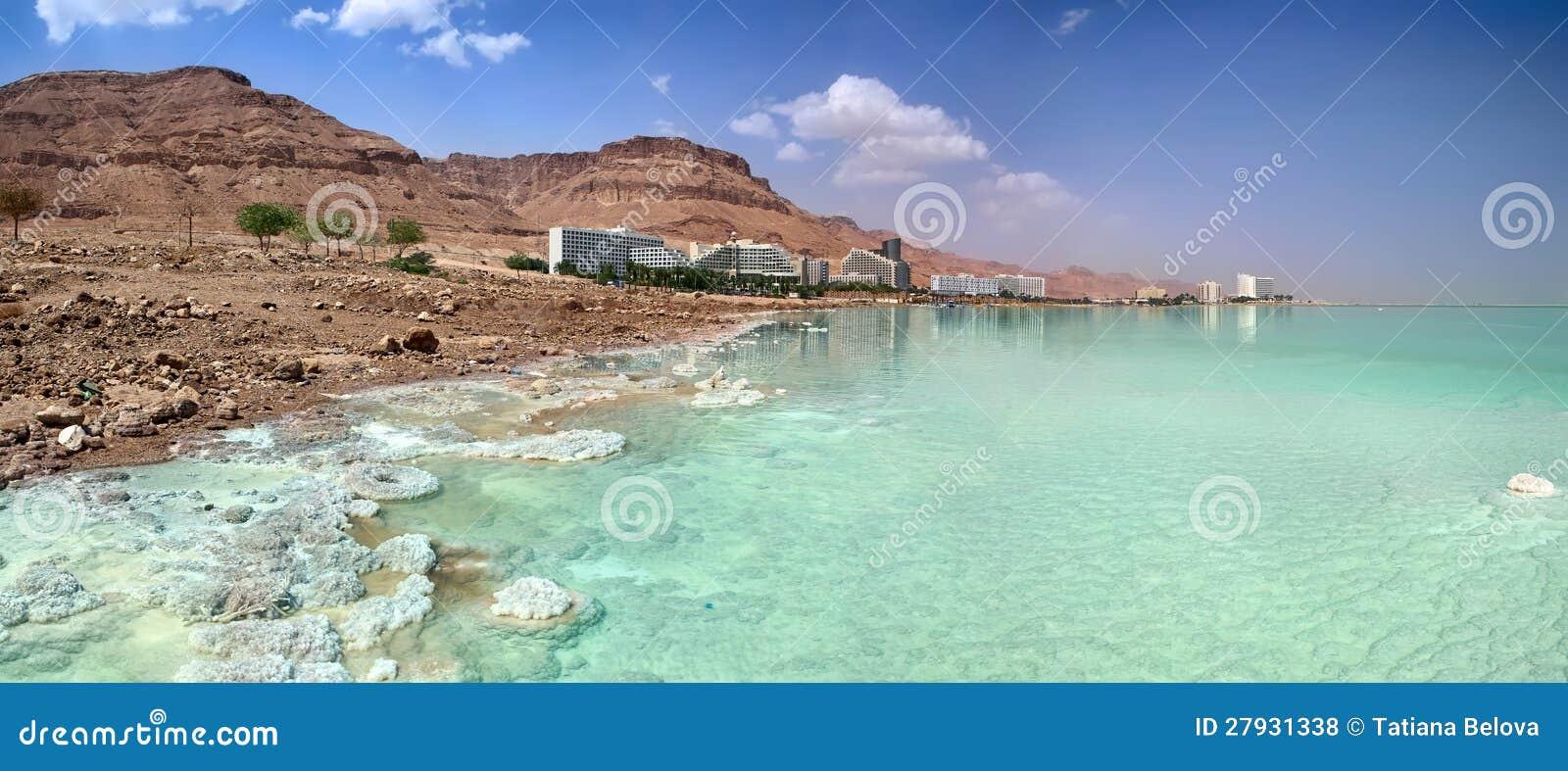 Costa de mar inoperante. Hotéis. Israel