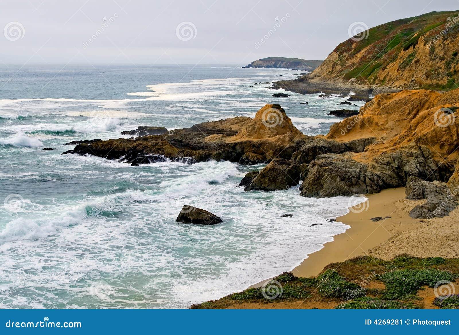 Costa de Sonoma, louro Califórnia de Bodega