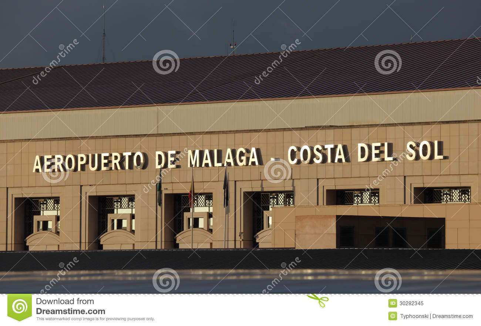 Costa del Sol机场在马拉加