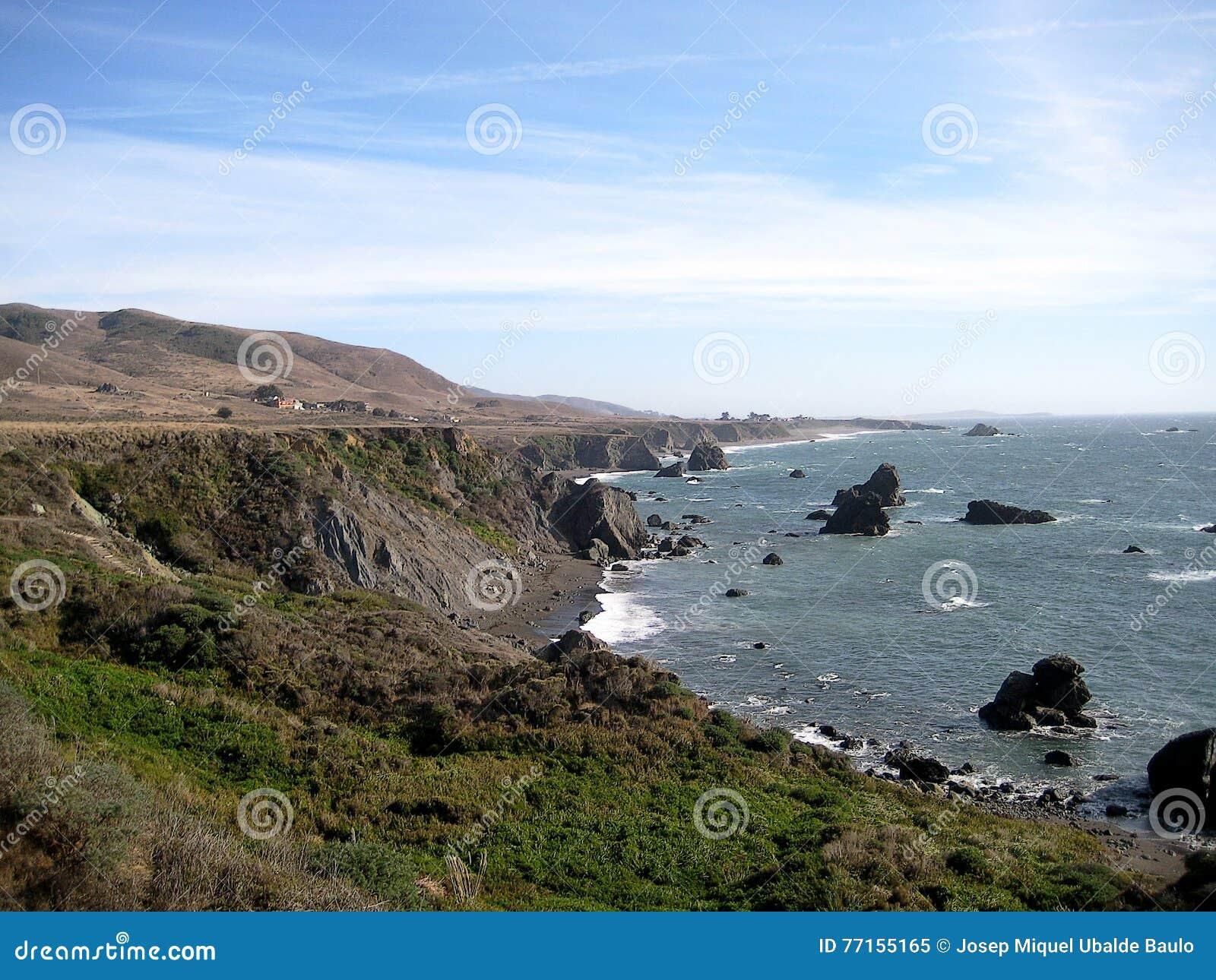Costa di verde di Sonoma & x28; California& x29;