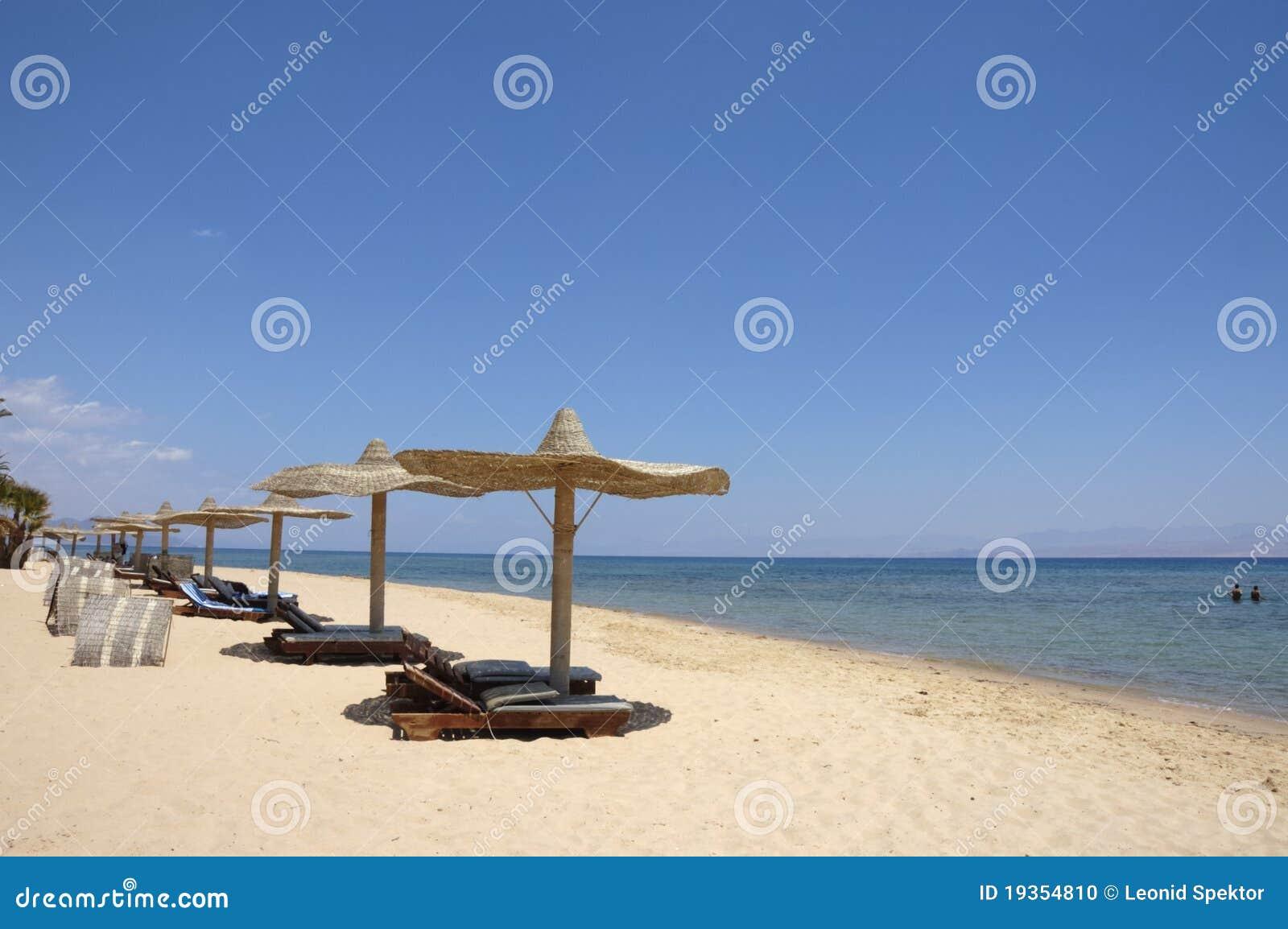 Costa do Mar Vermelho.
