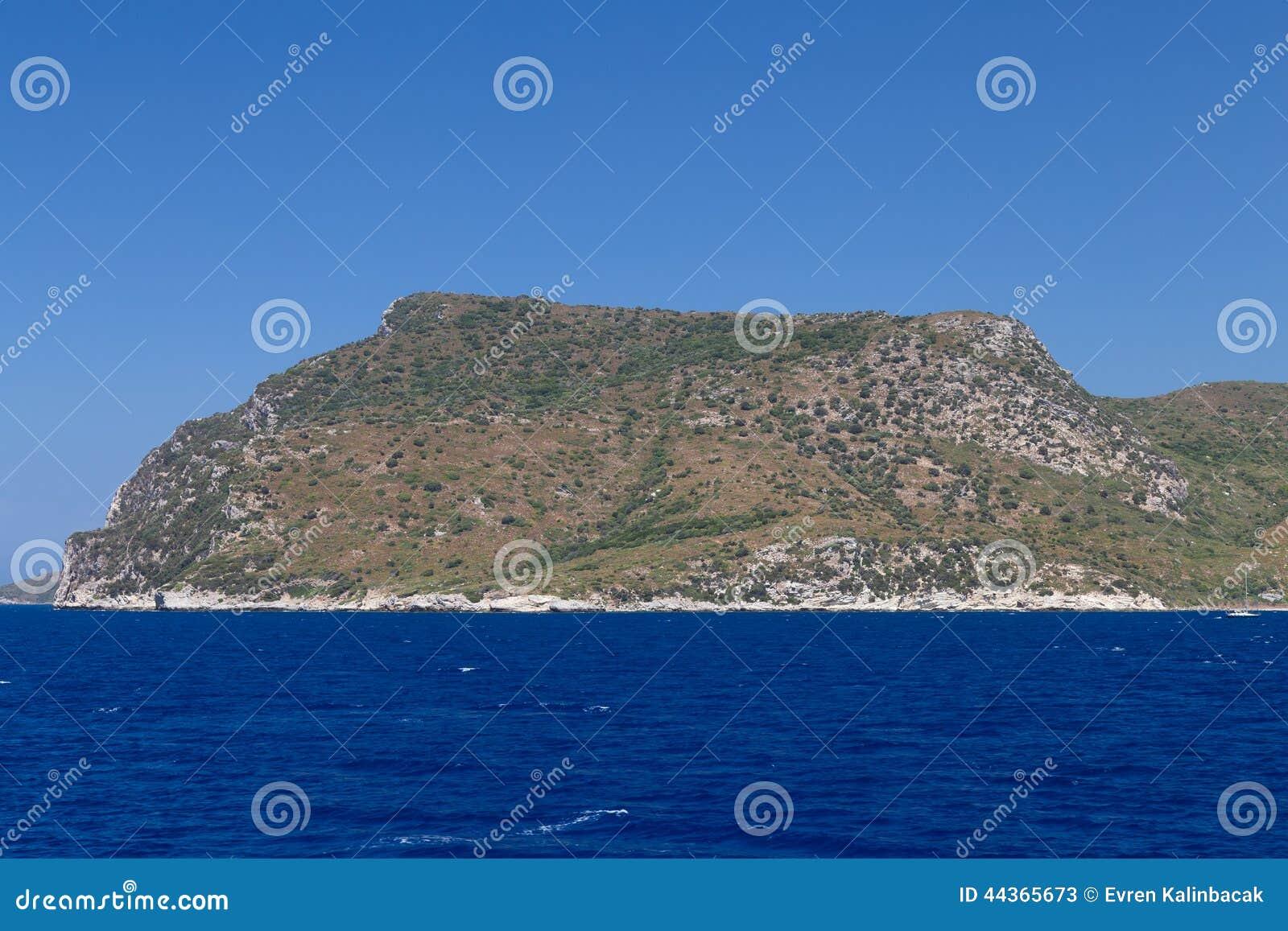 Costa egea della Turchia