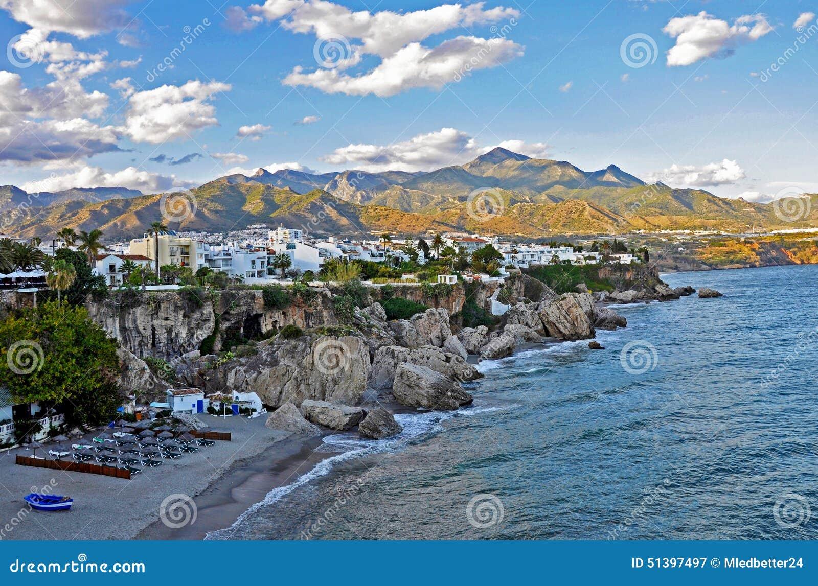 Costa mediterrânea de Viareggio